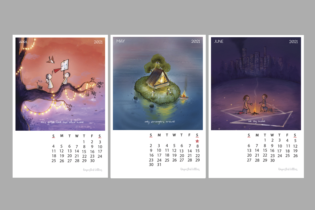 Calendar 2021 Illustrfartions2