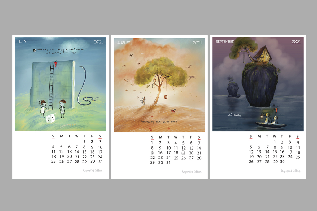 Calendar 2021 Illustrfartions3