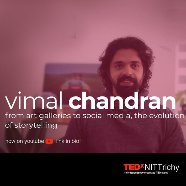 VimalChandran_TedxTrichy